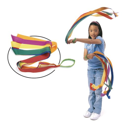 Rainbow Dancing Wrist Bands - Set of 6