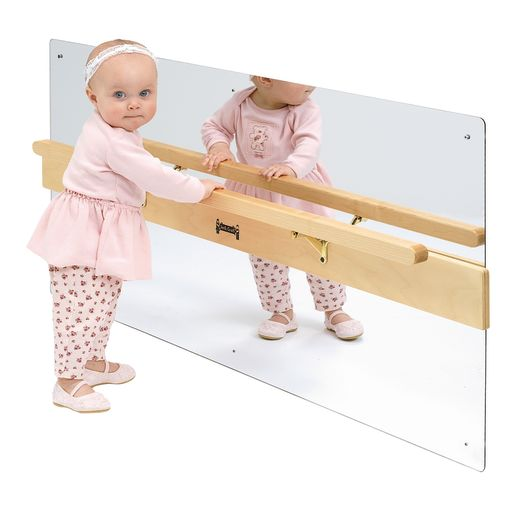 Infant Coordination Mirror Plus Balance Rail