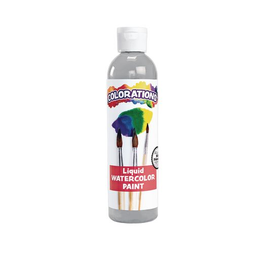 Colorations® Liquid Watercolor™ Paint, Gray - 8 oz.
