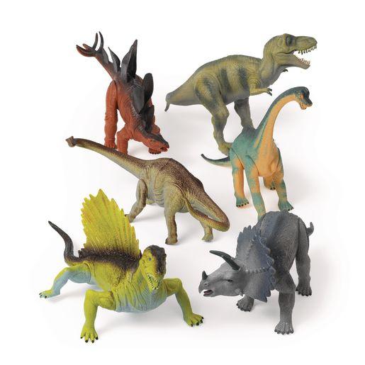 Jumbo Assorted Dinosaurs - Set of 6