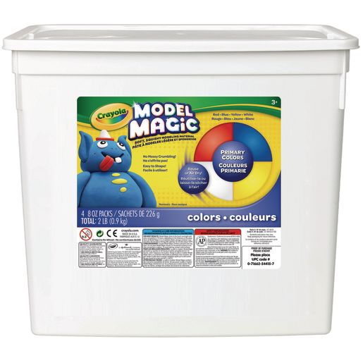 Image of Primary Colors Crayola Model Magic Modeling Clay - 2lbs.