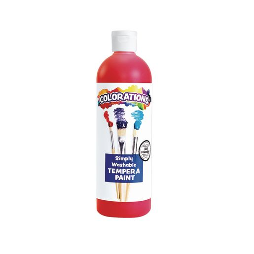 Colorations® Red Simply Washable Tempera, 16 oz._0