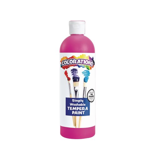 Image of Colorations Simply Washable Tempera Paint - 16 oz.