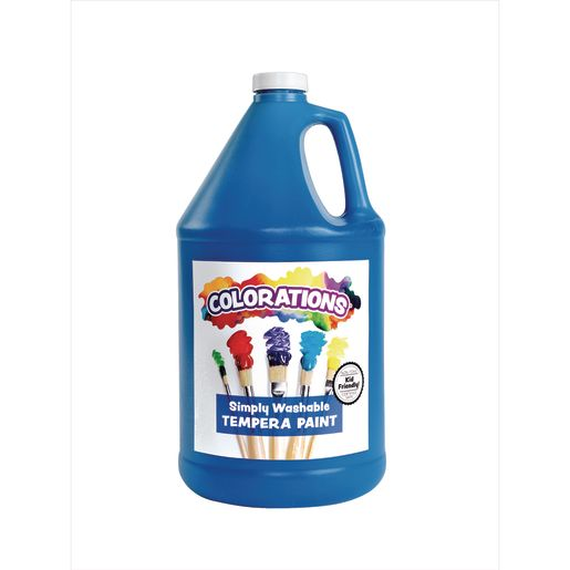 Image of Colorations Gallon of Blue Simply Washable Tempera Paint