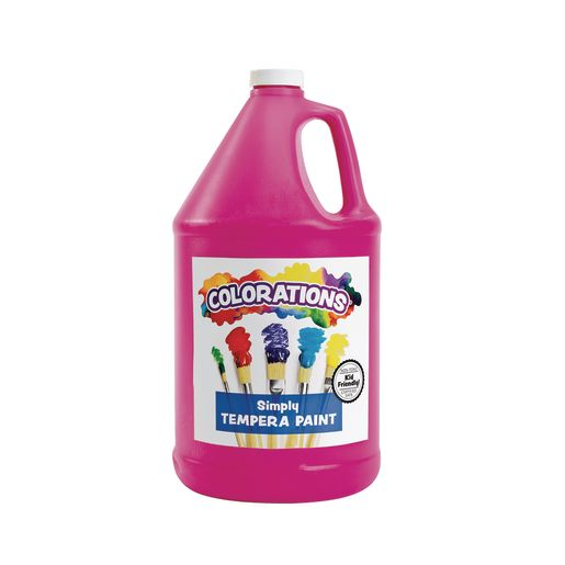 Colorations® Simply Tempera Paint, Magenta - 1 Gallon
