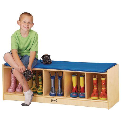 5-Section Bench Locker
