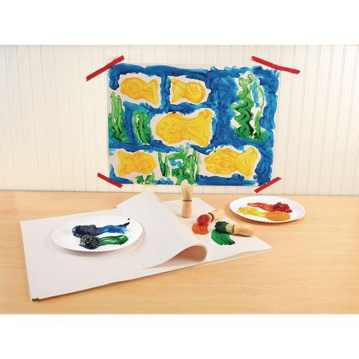 Colorations® Washable Finger Paint, White - 16 oz.
