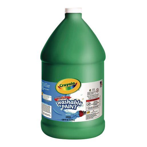 Green Crayola® Washable Paint, 1 Gallon