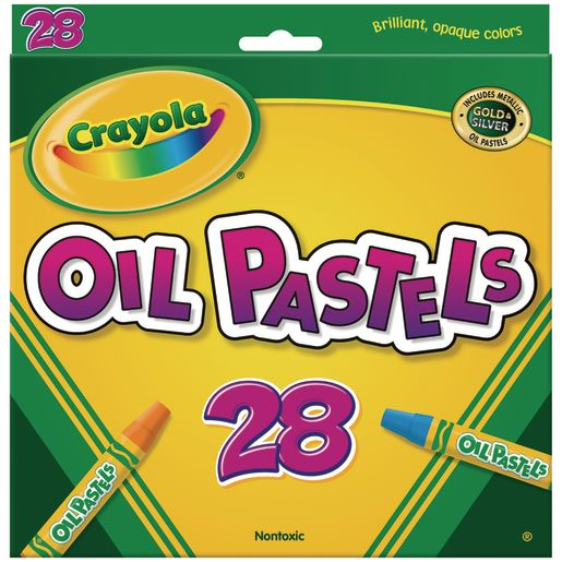 Image of Crayola Oil Pastels - Set of 28