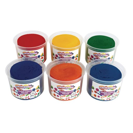 Image of Colorations Classic Colors Best Value Dough - 18 lbs.