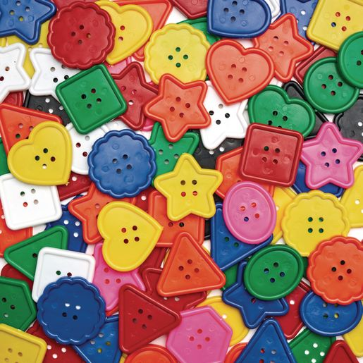 Colorations® Really Big, Bright Buttons - 1 lb.