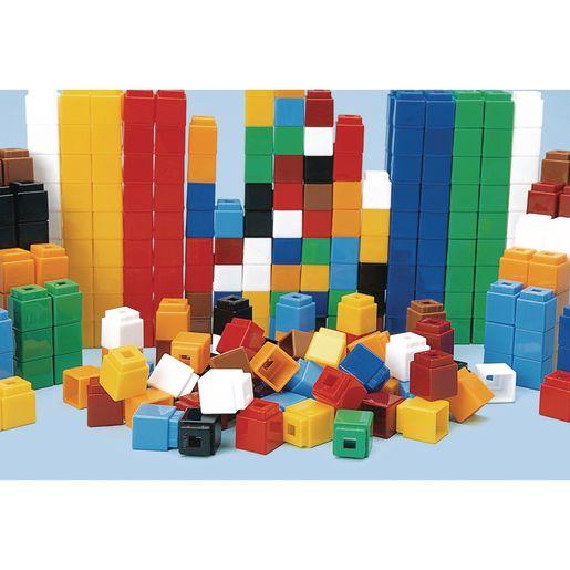 Image of 500 Unifix Cubes