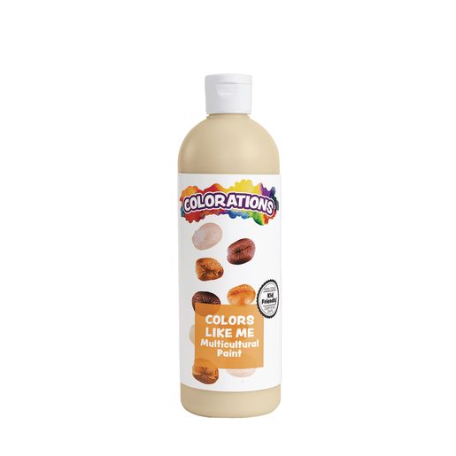Image of Colorations Colors Like Me Multicultural Paint, Beige - 16 oz.