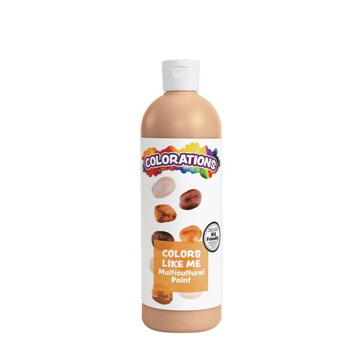 Image of Colorations Colors Like Me Multicultural Paint, Caramel - 16 oz.