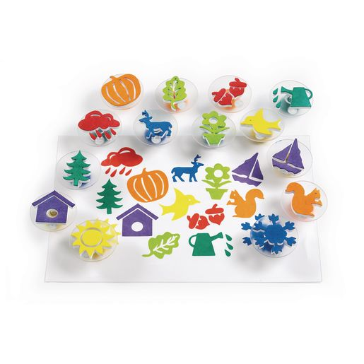 Colorations® Easy-Grip Stampers, Seasonal - Set of 14