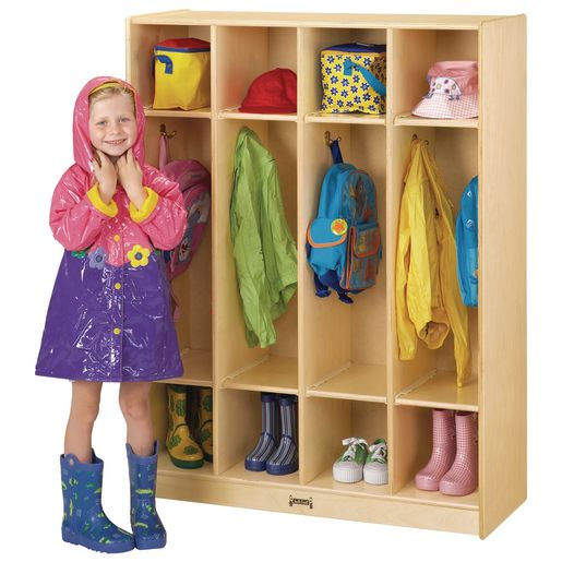 4-Section Locker