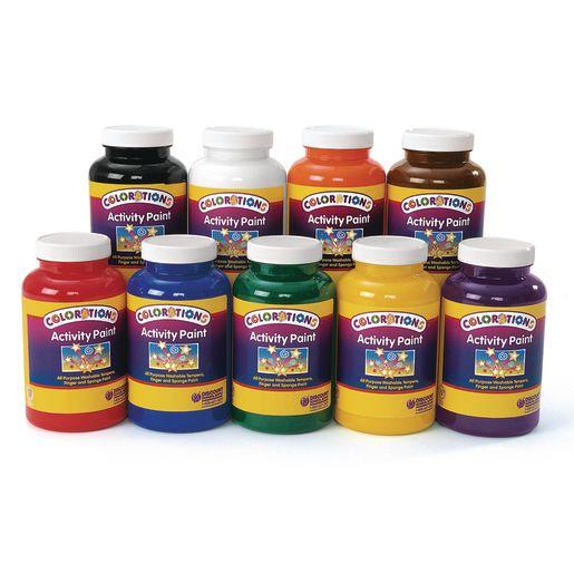 Colorations® Activity Paints, 16 oz. - Set of 9