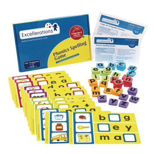 Excellerations® Phonics Spelling Game_1