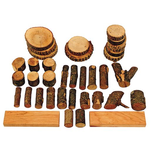 Tree Blocks - 36 Pieces
