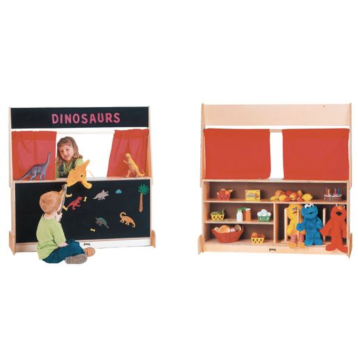 Flannel Imagination Station Puppet Theater