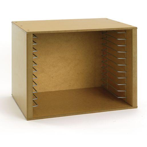 Sturdy Wood Puzzle Storage Case