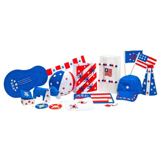 White Paper Craft Bags - Set of 100