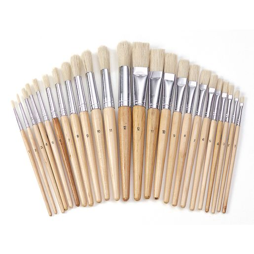 Colorations® Best Value Easel Paint Brush Assortment - Set of 24