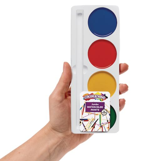 Colorations® 4 Best Value Jumbo Washable Watercolor Paint component only