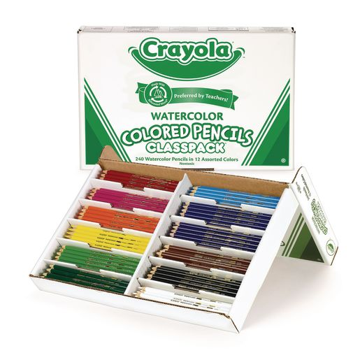 Image of Crayola Watercolor Pencils Classpack - Set of 240