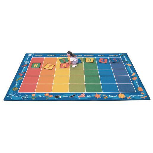 """Calendar 7'6"""" x 12' Rectangle Premium Carpet"""
