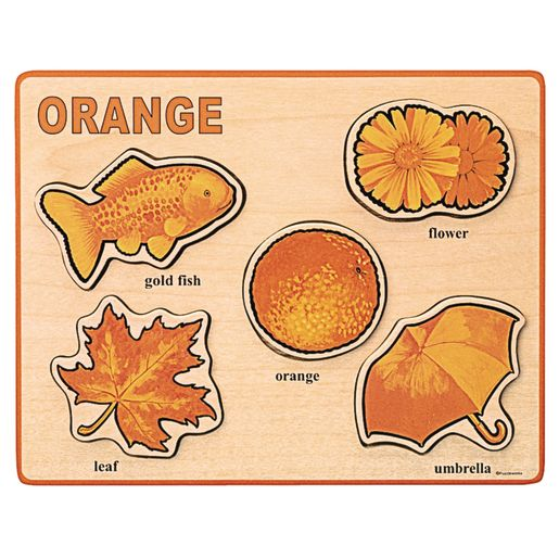 Bright Color Puzzles - Set of 8