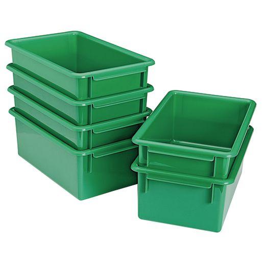 MyPerfectClassroom® Easy-Label Bin - Green