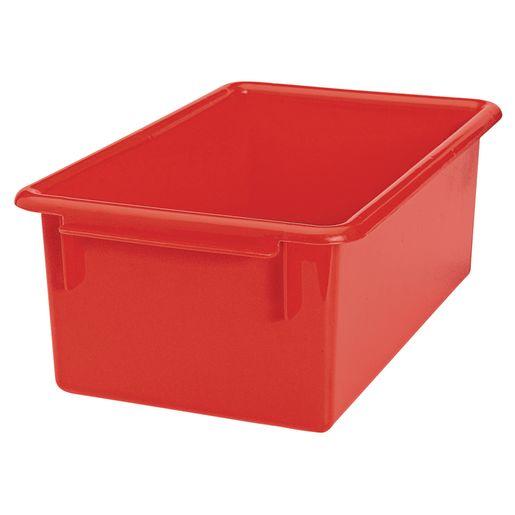 MyPerfectClassroom® Easy-Label Bin - Red