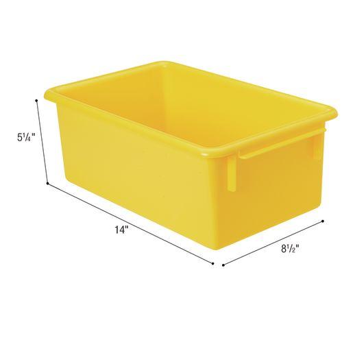 MyPerfectClassroom® Easy-Label Bin - Yellow