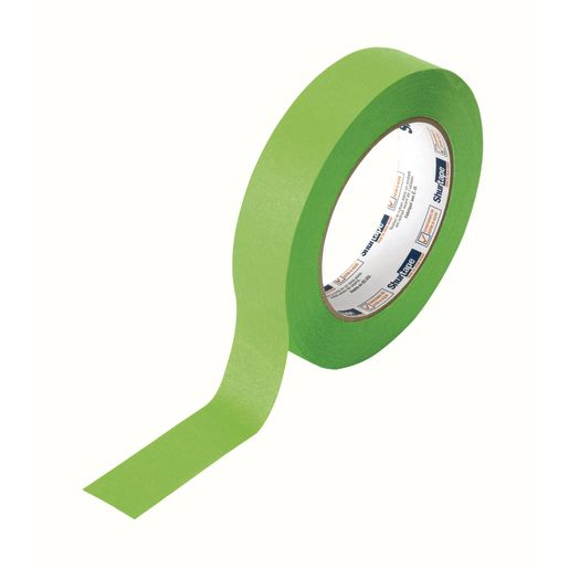 "Lime Green Masking Tape, 1""W x 60 yds."