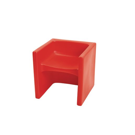 Image of Cube Chair - Red