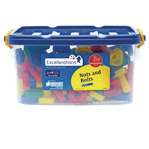 Excellerations® Nuts and Bolts - 96 Pieces