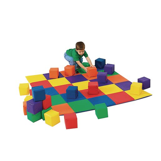 Crawley Mat with 12 Toddler Cubes