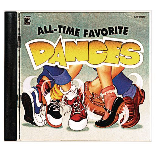 """""""""""""""All-Time Favorite Dances"""""""" CD by Kimbo Educational"""""""