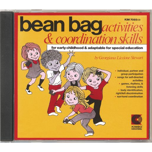 """Bean Bag Activities & Coordination Skills"" CD by Georgiana Stewart"