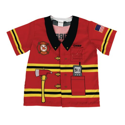 Fire Fighter Washable Career Costume