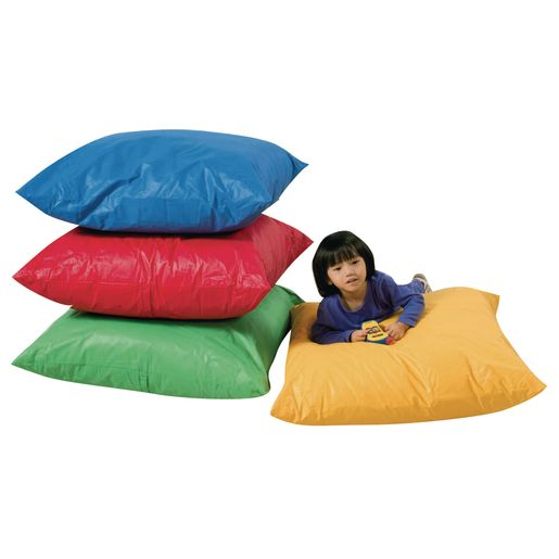 Image of 27 Square Floor Pillows - Set of 4