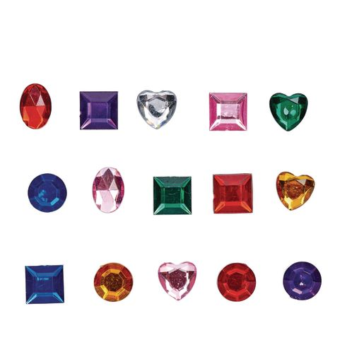 Colorations® Glittering Rhinestones - 570 Pieces_1