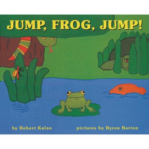 Jump, Frog, Jump Board Book