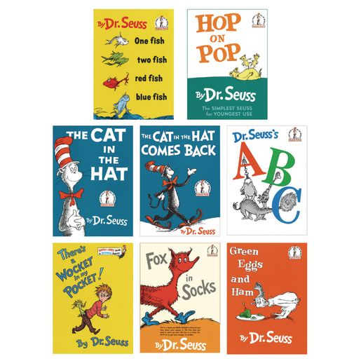 Dr. Seuss Books - 8 Titles