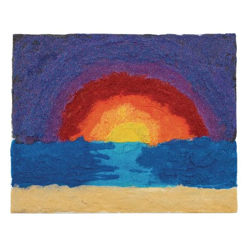 Colorations® Colorful Craft Sand, Black - 22 oz.