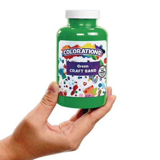 Colorations® Colorful Craft Sand, Royal Blue - 22 oz.