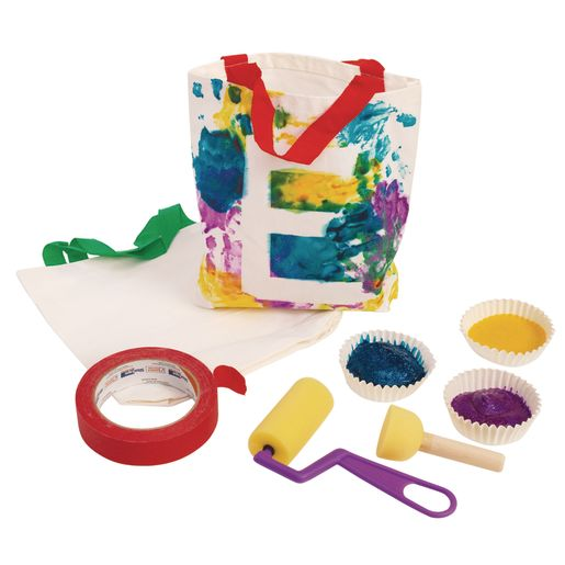 Colorations® Canvas Tote Bags - Set of 12