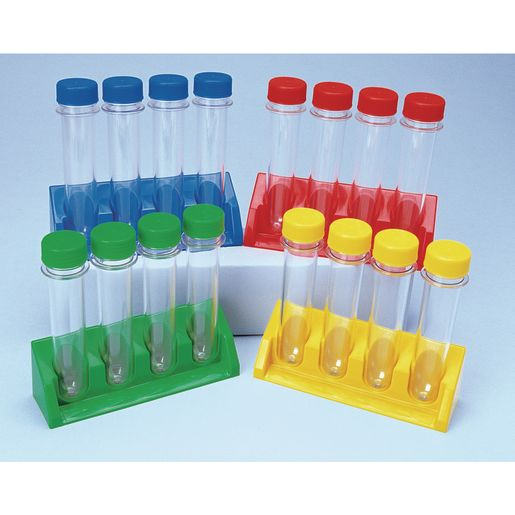 Super Test Tubes with Stands - 20 Pieces