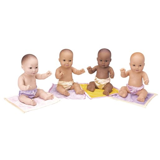 Tender Touch Baby Dolls - Set of All 4